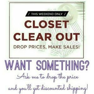 Closet Clear Out Today Only!